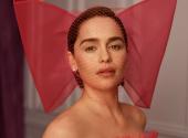Emilia Clark starred in an elegant photo shoot for Vogue