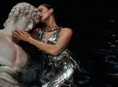 Beautiful Bella Hadid shot for the first issue of the Greek Vogue