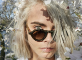 Cara Delevingne starred in advertising for new Burberry perfume