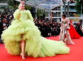 The most failed looks of stars from the red carpet of the Cannes festival 2019