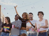 H&M released a collection in support of the LGBT community