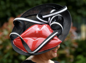 Royal Ascot Ladies' day, the most extravagant headwear on royal races