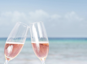 Drinking rose wine in France all day. Dream contest announced!