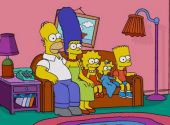 Like in the movies. IKEA has created a living room design based on the Simpsons, Friends and Stranger Things