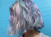 New Insta-trend: two-colour hair dyeing