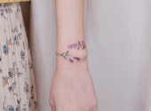 Tattoo bracelets - a new fashion trend on Instagram