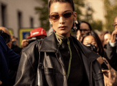 Flared pants - a stylish attribute of an autumn wardrobe: Bella Hadid shows how to wear