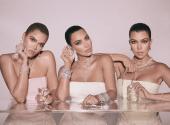 "Kardashians released a ""diamond"" collection of fragrances"