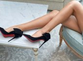Christian Louboutin presented Christmas footwear collection
