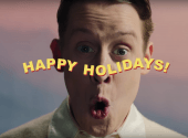 Back in business: Macaulay Culkin starred in Christmas socks commercial