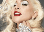Lady Gaga has released a Christmas collection of cosmetics