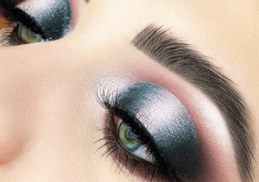Halo-eyes: new spring makeup trend